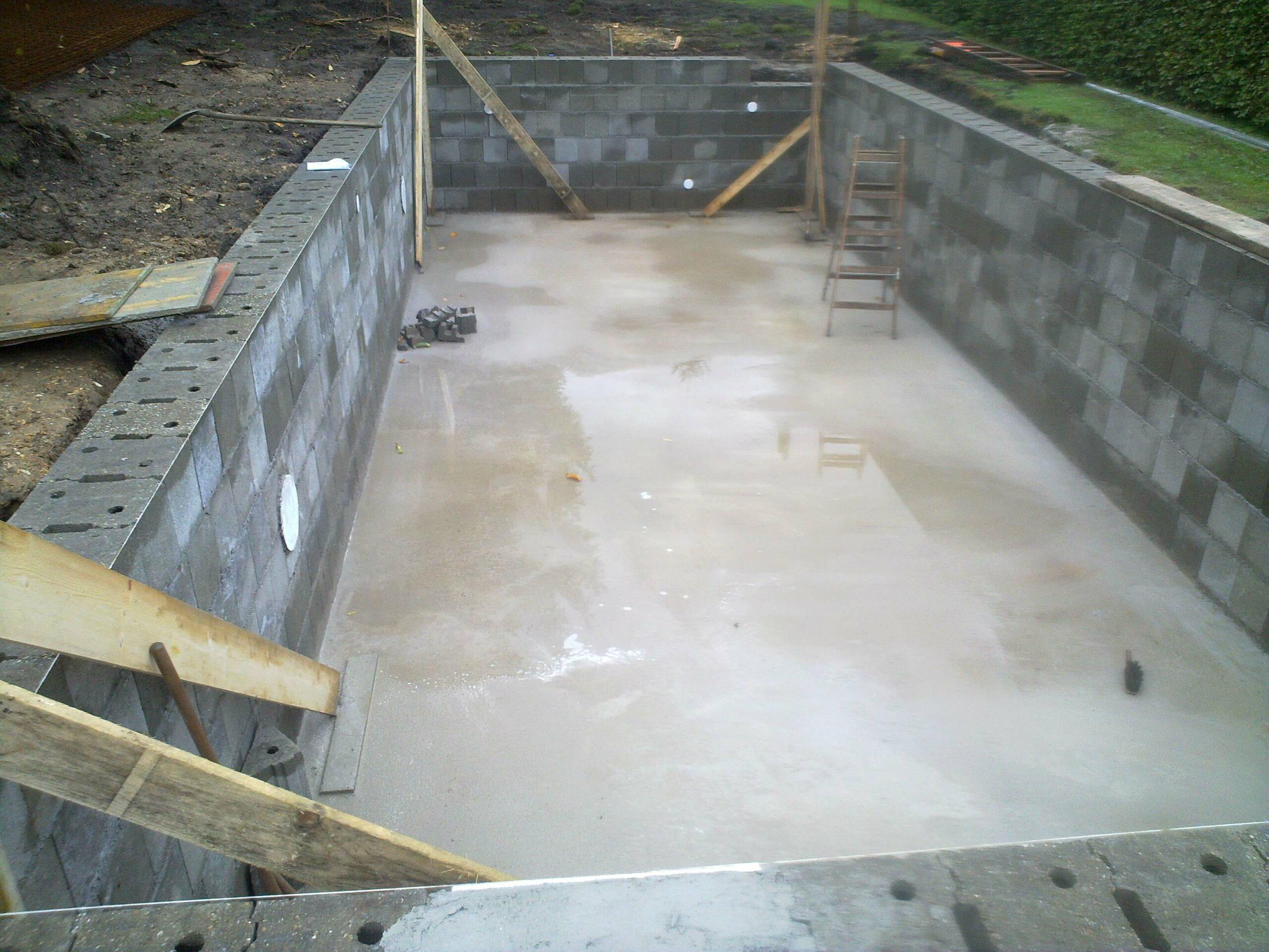Schwimmbadbau Swimming Pool