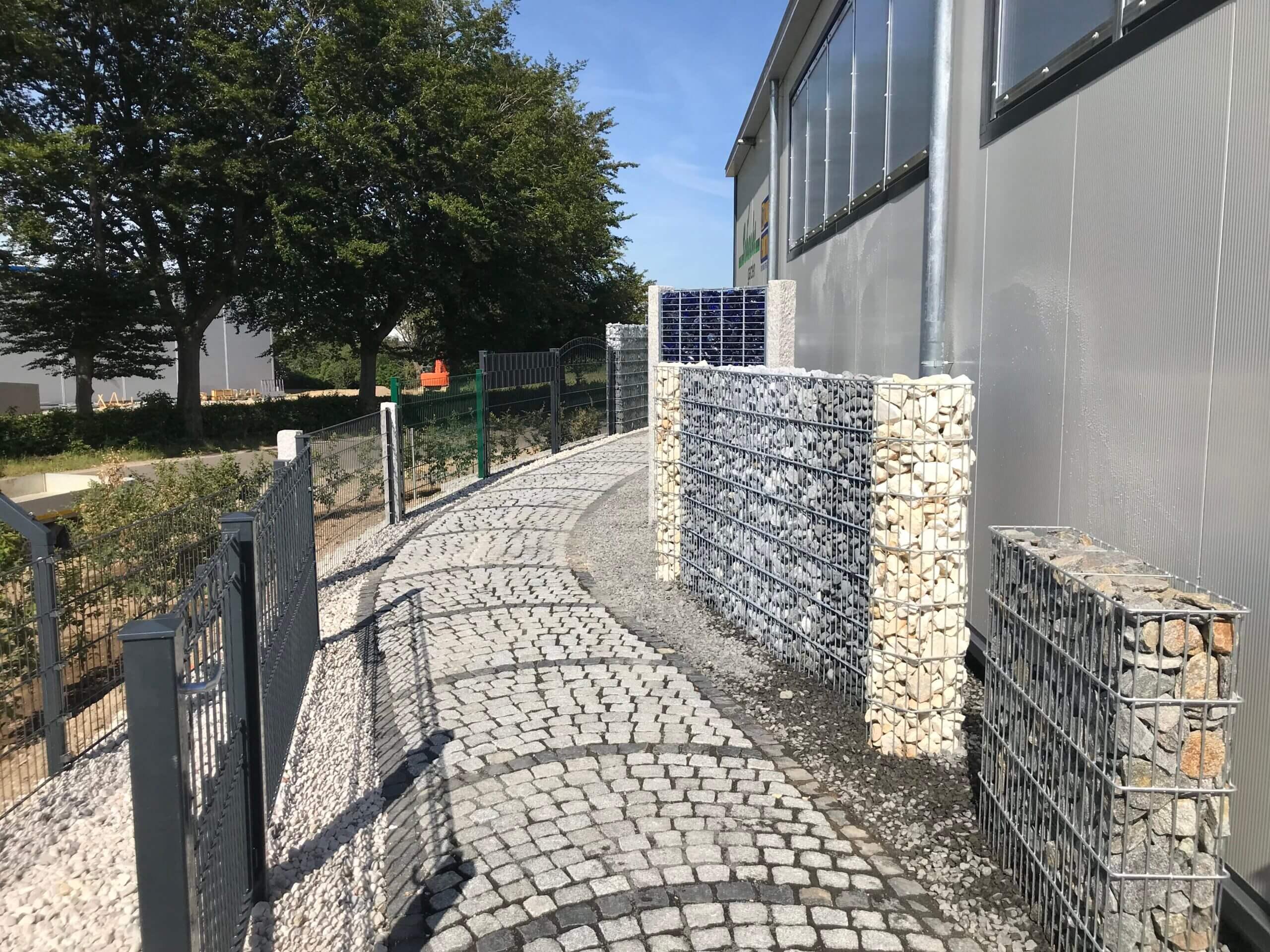 Schacht garden 24h Zaunausstellung in Rollesbroich