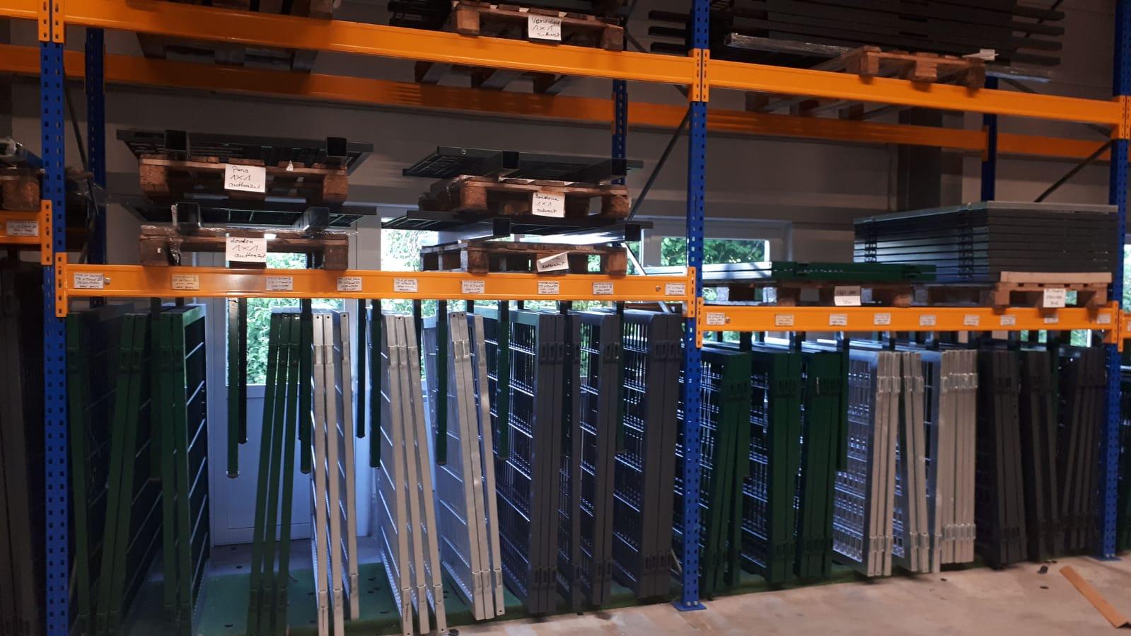 Schacht garden A1 ZaunPartner Logistikzentrum Verladen