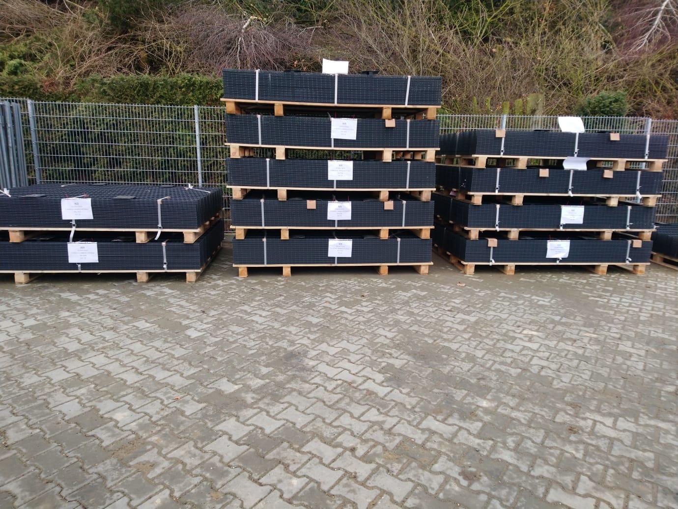 Schacht garden A1 ZaunPartner Logistikzentrum Lager