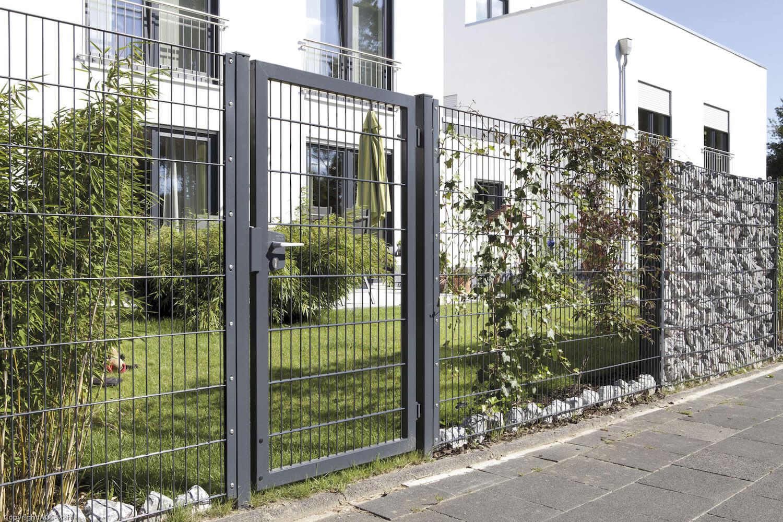 Schacht garden A1 ZaunPartner Gartentor VARIO trend 2