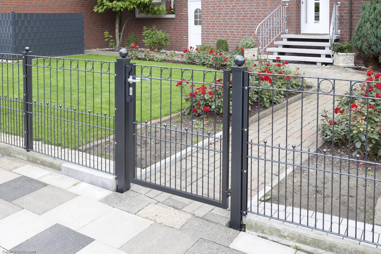 Schacht garden A1 ZaunPartner Gartentor VARIO Residenz LONDON