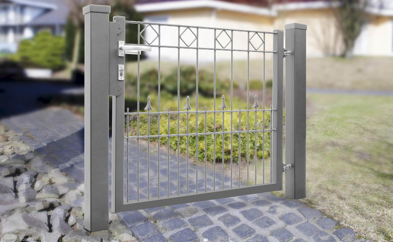 Schacht garden A1 ZaunPartner Gartentor VARIO Residenz PARIS 1