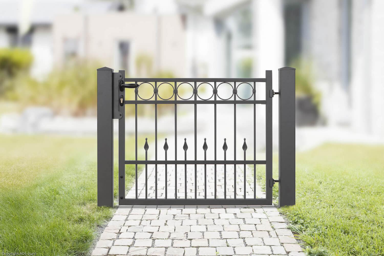 Schacht garden A1 ZaunPartner Gartentor VARIO Residenz Premium DRESDEN