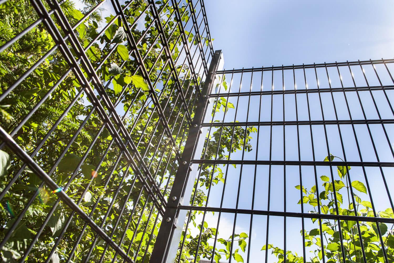 Schacht garden A1 ZaunPartner Eckpfosten 1