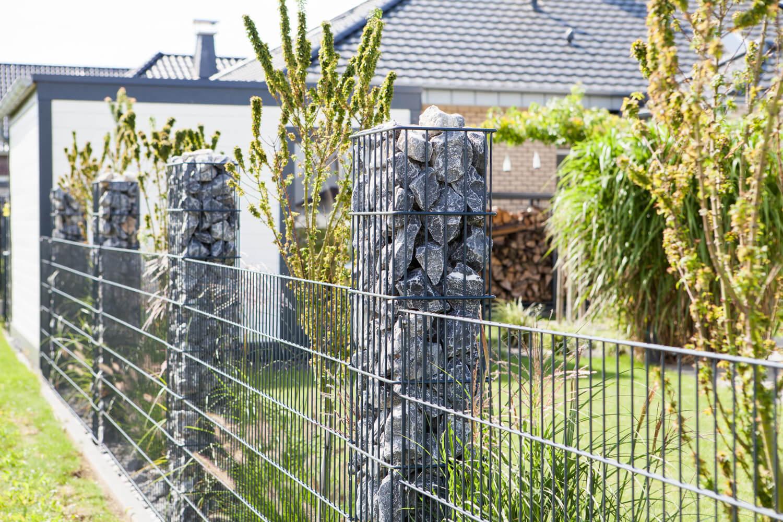 Schacht garden A1 ZaunPartner Gabionen-Säulen 1