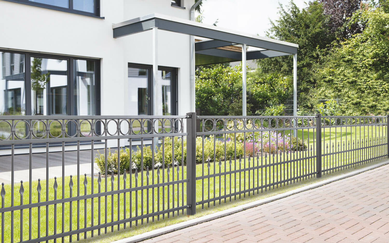 Schacht garden A1 ZaunPartner Schmiedezaun DRESDEN