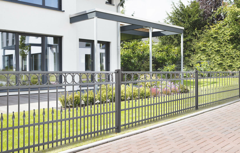 Schacht garden A1 ZaunPartner Schmiedezaun Residenz premium DRESDEN