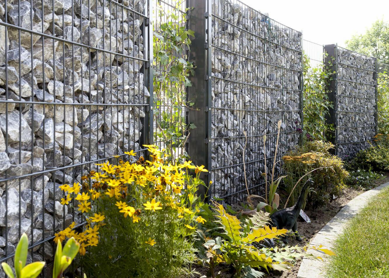 Schacht garden A1 ZaunPartner Gabionenzaun-Systeme 2