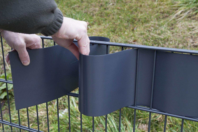 Schacht garden A1 ZaunPartner Zaun-Sichtschutz vorkonfektioniert BLICKDICHT pro easy 1
