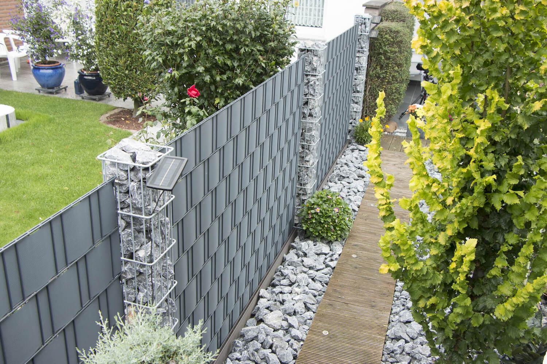 Schacht garden A1 ZaunPartner Zaun-Sichtschutz vorkonfektioniert BLICKDICHT pro easy 2