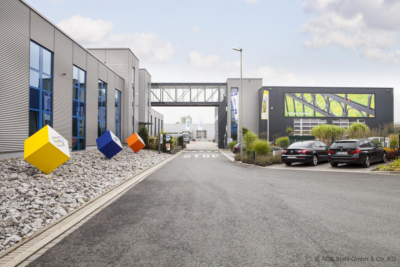 Produktion und Qualität AOS Stahl Hauptsitz 1