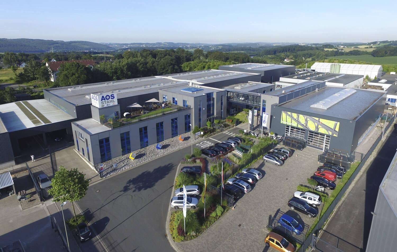 Produktion und Qualität AOS Stahl Hauptsitz 2