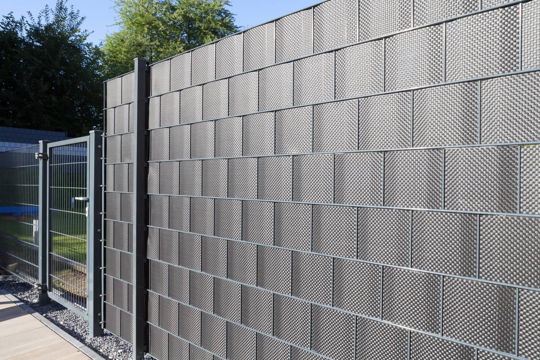 Schacht garden A1 ZaunPartner Zaun-Sichtschutz Sichtschutzstreifen konfektioniert 1